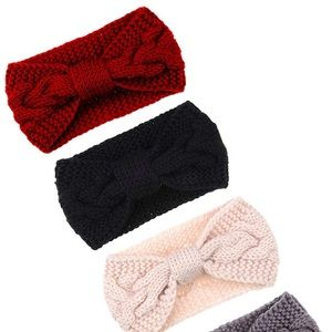 🆕 Cable Knit Winter Headband - 3 Colors Available